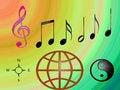 Free World Music Stock Photo - 3663230