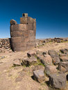 Free Sillustani Funeral Towers Royalty Free Stock Images - 3664979