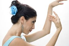 Free Dancer Portrait Stock Photo - 3660060