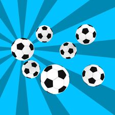 Free Soccer Balls Royalty Free Stock Photography - 3660137