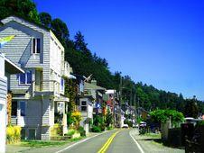 Free Coastal Homes V1 Royalty Free Stock Photo - 3660875