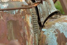 Free Rusty Old Vehicle Royalty Free Stock Image - 3660916