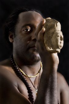 Free Buddha Portrait Royalty Free Stock Photo - 3660965