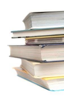 Free Many Books Lay Royalty Free Stock Photography - 3661137