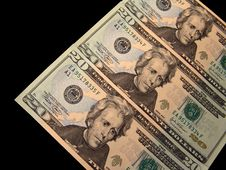 Free US 20 Dollars Bills Royalty Free Stock Photo - 3661695