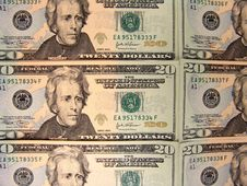 Free US 20 Dollars Bills Royalty Free Stock Photo - 3661895