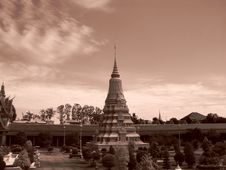 Free Royal Palace - Cambodia Stock Image - 3662001