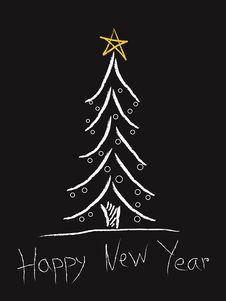 Free New Year S Tree Stock Photos - 3662573
