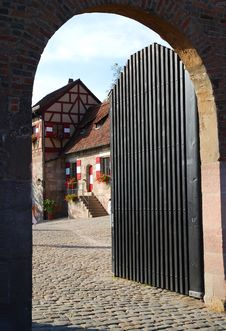 Free Open Gate Stock Images - 3662834