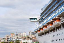 Free Luxury Cruise Ship Royalty Free Stock Photo - 3662885