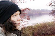 Free Woman In Autumn Royalty Free Stock Photos - 3662908