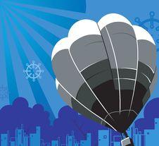 Free Hot Air Balloon Royalty Free Stock Photo - 3663035