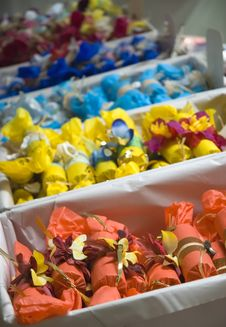 Free Bon-bons At Christmas Market Royalty Free Stock Photo - 3663195