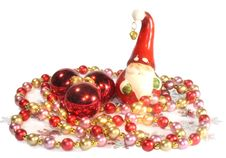 Free Santa And Beads Royalty Free Stock Image - 3663466
