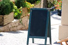 Free Blank Board Royalty Free Stock Photography - 3663537