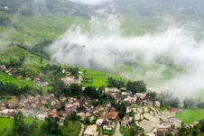 Free A Terrace Village After Rain Royalty Free Stock Photos - 3664038