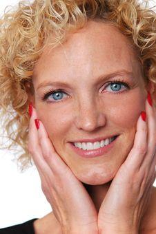 Free Attractive Woman S Portrait Stock Photo - 3664640