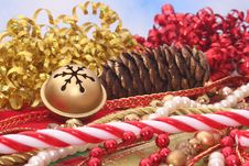 Free Christmas Decorations Royalty Free Stock Image - 3665716