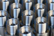 Free Cylindrical Workpiece Stock Photography - 3665722
