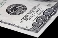 One Hundred Dollar Bill Royalty Free Stock Images