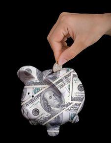 Free Piggy Bank Stock Image - 3666711