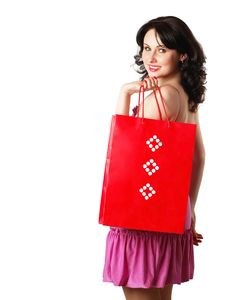 Free One More Lady In Red Royalty Free Stock Photography - 3667327