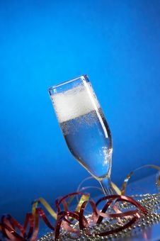 Free Glass With Champagne Stock Photos - 3667893