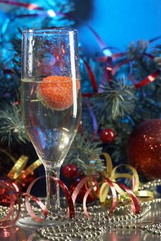Free Glass With Champagne Royalty Free Stock Photo - 3667925