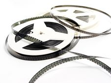 Free Two Old Film Reels Stock Photography - 3669752