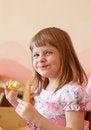 Free Girl Eating Fruit Royalty Free Stock Photos - 36602138
