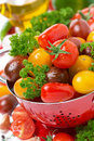 Free Assorted Fresh Cherry Tomatoes, Herbs And Spices, Close-up Stock Photos - 36603293