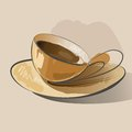 Free Abstract Coffee Illustration Royalty Free Stock Photo - 36604285
