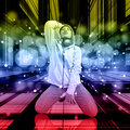 Free Dancer On The Dance Floor Royalty Free Stock Image - 36604846