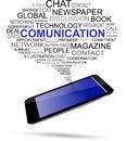 Free Bubble Talk & Mobile Phone Stock Photo - 36605910