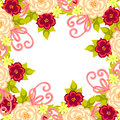 Free Fresh Flower Background Royalty Free Stock Photography - 36607057