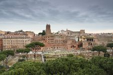 Free View Over Trajan S Forum Stock Photography - 36602242