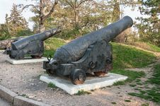 Free An Ancient Cannon Cannon Royalty Free Stock Image - 36602406