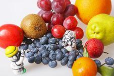 Seasonal Fruit Royalty Free Stock Photo