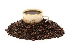 Free Cup Of Coffee Royalty Free Stock Photos - 36608258