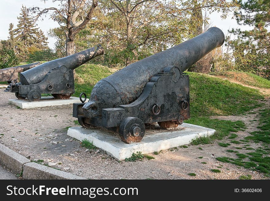 An ancient cannon Cannon