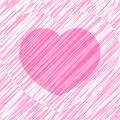 Free Base For A Valentine Card With Heart, Vector Stock Photos - 36614453