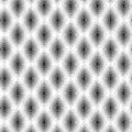Free Black And White Abstract Line Pattern, Vector Royalty Free Stock Images - 36614919