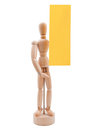 Free Wooden Figurine Royalty Free Stock Image - 36617206