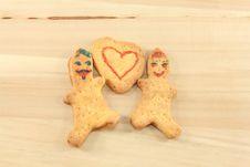 Free Gingerbread Men Stock Images - 36610074
