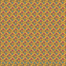 Free Retro Style Geometric Seamless Pattern Royalty Free Stock Photo - 36610695