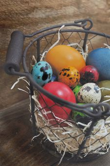 Free Easter Eggs Royalty Free Stock Image - 36613226