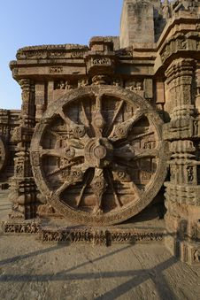 Free Konark Sun Temple Royalty Free Stock Images - 36614269