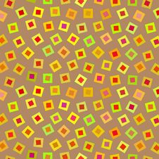 Free Bright Square Pattern, Vector Stock Image - 36614381