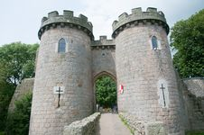 Free Towers Of The Castle Stock Photography - 36615712
