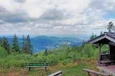 Free Landscape In The Black Forest Royalty Free Stock Image - 36616466